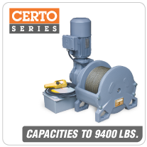 Columbia AC Hoists Certo Series