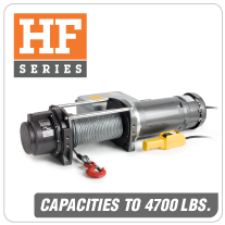 Columbia AC Hoists HF Series
