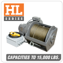 Columbia AC Hoists HL Series