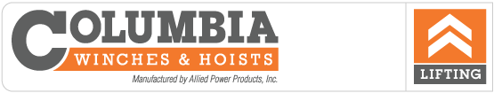 Columbia AC Electric Hoists