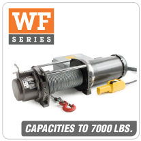 Columbia AC Winches WF Series