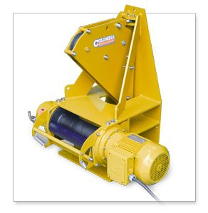 Columbia Ac Electric Belt Winch For Drying Belt Installation