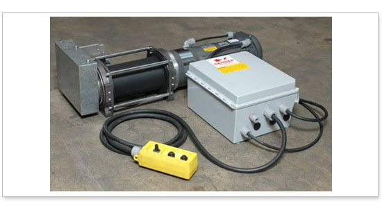 High Speed Ac Electric Winch For Japanese Production