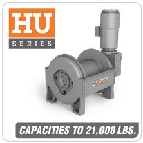 Columbia AC Hoists HU Series