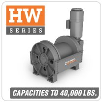 Columbia AC Hoists HW Series