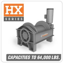 Columbia AC Hoists HX Series