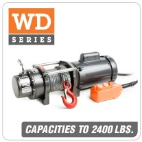 Columbia AC Winches WD Series