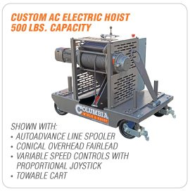 Industrial Custom Winches and Hoists