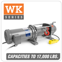Columbia AC Winches WK Series