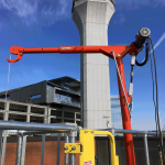 Cooling Tower Davit Crane
